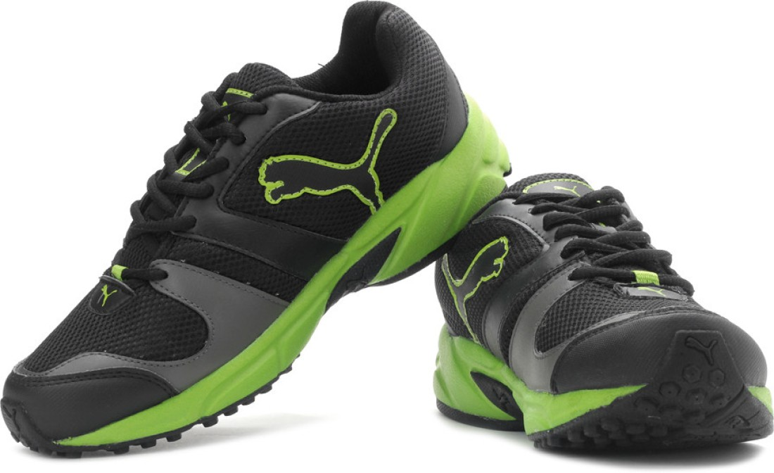 Puma Strike Fashion DP Running Shoes - Buy Black Color Puma Strike ...