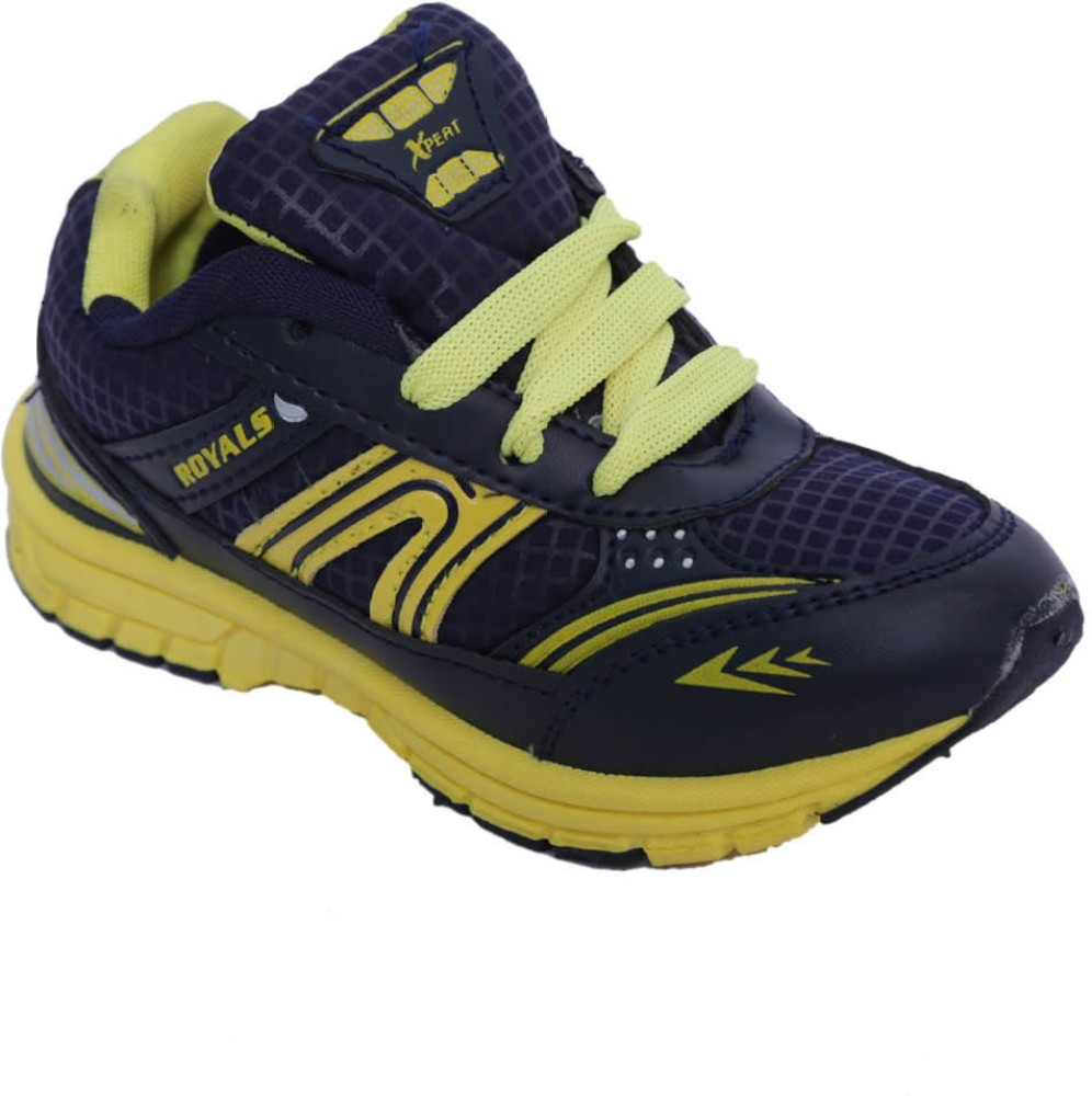 Xpert Zoom3 Navy Ylw Running Shoes