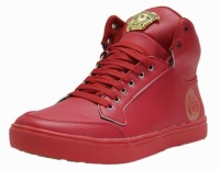 West Code West Code Men's Synthetic Leather Casual Shoes 7091-Red-8 Casuals