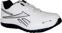 Oxland Classic White And Blue Running Shoes