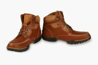 Bacca Bucci Fit Tan Brogue Style Ankle Boots Boots