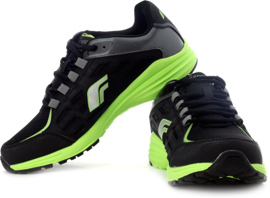 f sports airwave running shoes buy black green color f