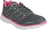 Action Women Sports Shoes Ls-42-Grey-Fushia Running Shoes