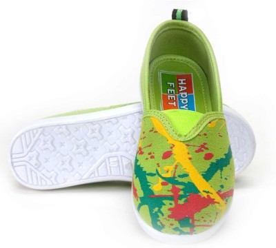 Splash Happy Feet Splash Casual Shoes (Green)