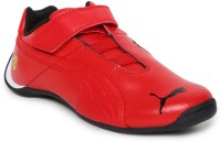 Puma Ferrari FutureCatSFVKids Motorsport Shoes Red