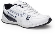 Haier Sports Scala White and Grey Running Shoes