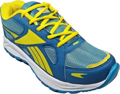 WBH RBN Fashion Sports Green Yellow Running Shoes