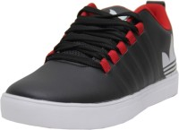 Black Tiger Black Tiger Men's Synthetic Leather Casual Shoes 8061-Black-7 Casuals