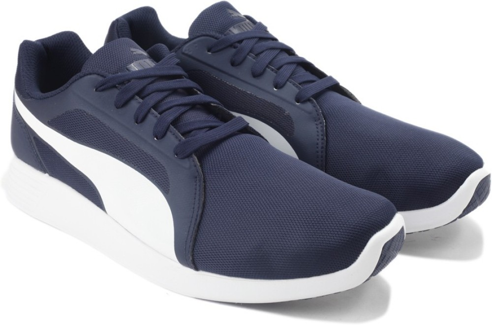 Puma ST Trainer Evo peacoat white Men Sneakers Blue