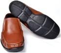 Senso Vegetarian Mens Tan Comfort Formal Slip On Shoes