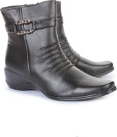 Do Bhai 978-640-Black Boots Boots