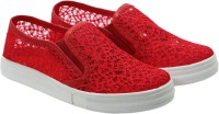 FashionPedia Casuals, Canvas Shoes, Sneakers, Mocassin Red