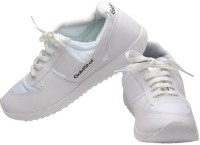 Goldstar White Running Shoes