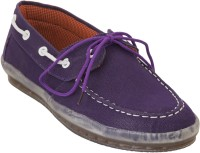 Advin England PURPLE LACE CASUAL SHOES Casuals Purple