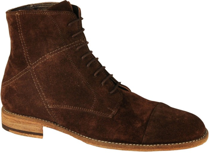 Salt N Pepper Ray Dark Brown Mid Ankle Boots