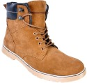 Afrojack Leather Boots - SHOEY4FBEFNHQMTW