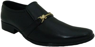 Senso Vegetarian Conventional Black Slip On Shoes