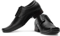 Fortune Jp-9704-Black Lace Up Shoes