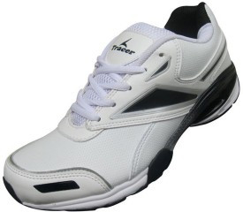 Tracer ECLIPSE-160 WHT/BLK Walking Shoes