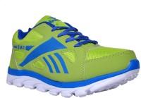 Glamour GMR ART 3038 Royal BlueParrot Green Running Shoes