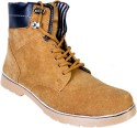 Afrojack Leather Boots - SHOEY4FBCGZBWJGP