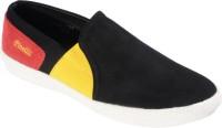 Pinellii Bravn Slip On Black Casual Shoes