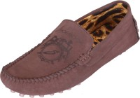 Shoebook Brown Men's Casual Loafers