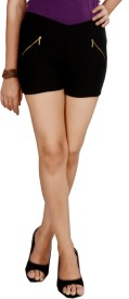 Pretty Angel Solid Women's Basic Shorts