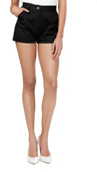 Eavan EA1114 Solid Women's High Waist Shorts