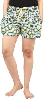 Nite Flite Printed Women's Night Shorts, Boxer Shorts - SRTE9KAQKZGY6N49