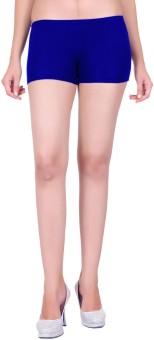 Dreamdrop Solid Women's Dark Blue Basic Shorts