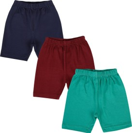 Lula Solid Girl's Blue, Green, Maroon Cycling Shorts