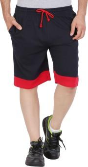 Checkersbay JACK24 DD-NA Solid Men's Sports Shorts