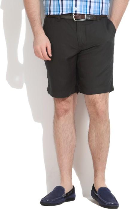 Wear Your Mind Solid Men's Basic Shorts - SRTEYP4U7BRG85RG