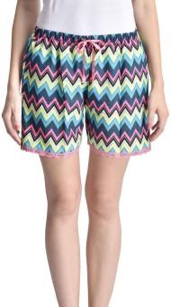 Lenora Printed Women's Yellow, Pink Boxer Shorts