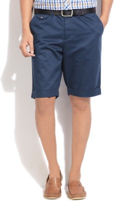 People Solid Men Shorts