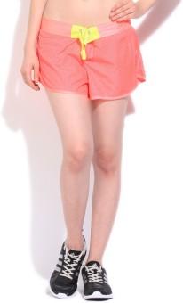 Reebok Printed Women's Pink Shorts