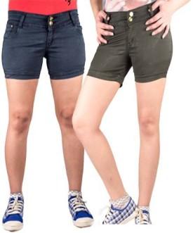 Iheart Solid Women's Hotpants - SRTE7A62JZWRMAEX