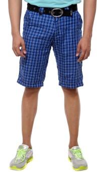 Sports 52 Wear Checkered Men's Basic Shorts