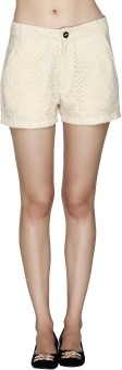 20Dresses An Affair With Lace Solid Women's Basic Shorts