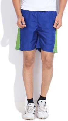 Edge Edge Solid Men's Sports Shorts (Blue)