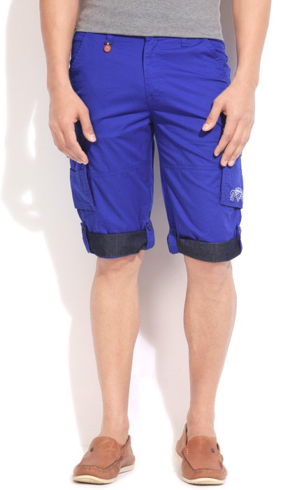 Wear Your Mind Solid Men's Cargo Shorts - SRTDV9ZGJFYYZEEV