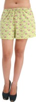Hypernation Printed Women's Basic Shorts