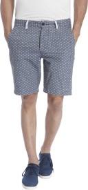 Jack & Jones Polka Print Men's Light Blue Basic Shorts