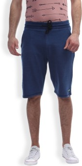 Breakbounce Solid Men's Light Blue Chino Shorts