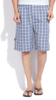 Jockey Checkered Men's Basic Shorts