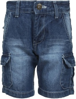 Chalk By Pantaloons Woven Boy's Denim Shorts