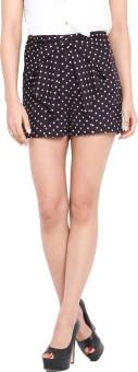 Pera Doce Laura Polka Print Women's Basic Shorts