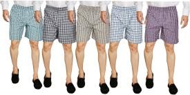 Wajbee Checkered Men's Boxer Shorts