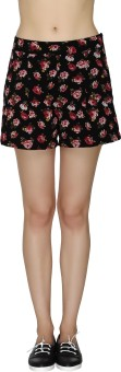 20Dresses In The Midst Of Roses Printed Women's Basic Shorts